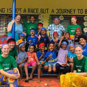 Volunteer abroad with a small group